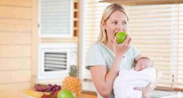 غذاهای ممنوعه برای مادران شیرده