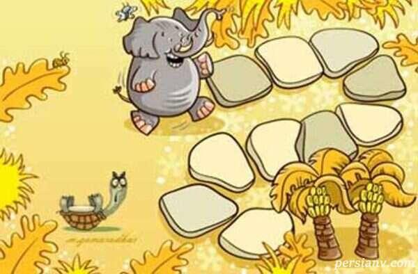 قصه لاکی و فیلی