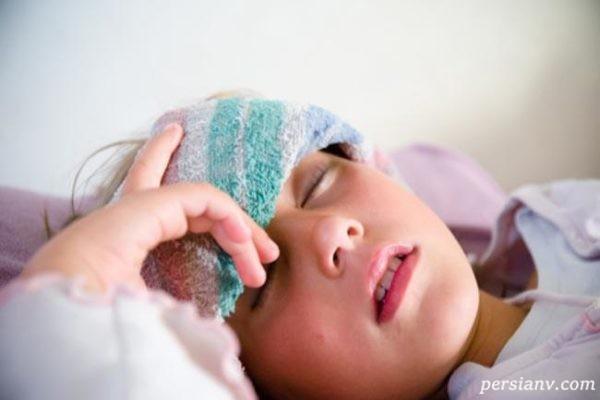 درمان بیماری حصبه در کودکان