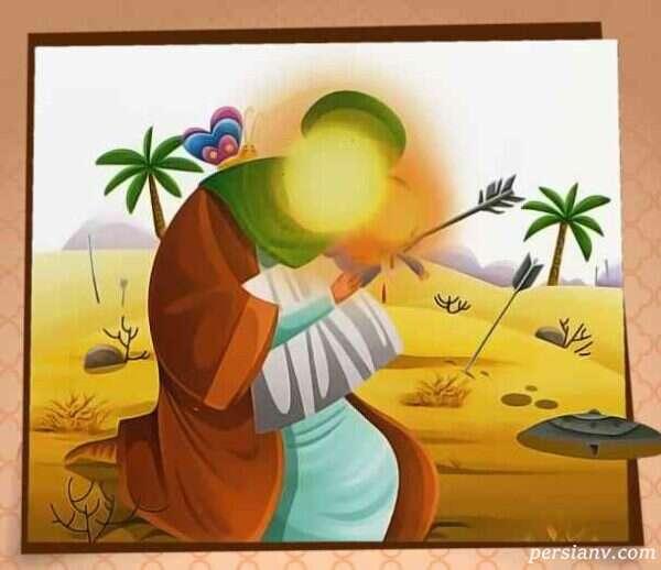 شعر کودکانه علی اصغر حسین (ع)