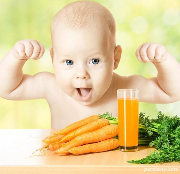 تغذیه کودک دو ساله