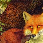 قصه کودکانه روباه در یک روز برفی