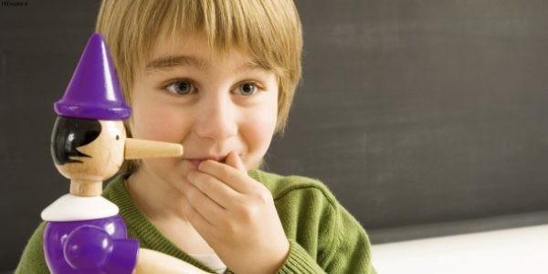 درمان دروغ گویی کودکان