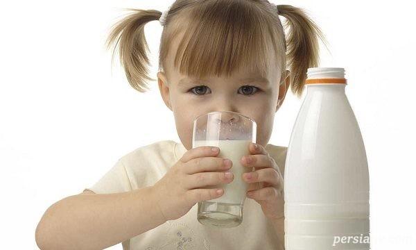 ضرورت مصرف شیر برای کودکان