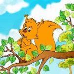 قصه کودکانه روباه و سنجاب