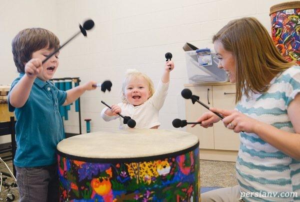 تاثیر موسیقی بر افزایش حافظه و تمرکزذهن کودکان