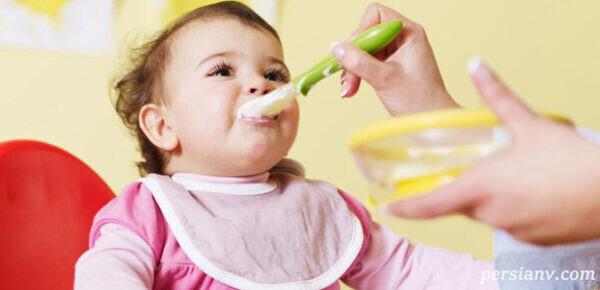 اولین غذای نوزاد
