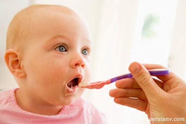 اولین غذای نوزاد پس از شروع تغذیه تکمیلی