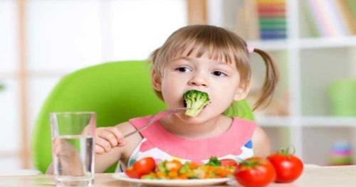 سبزی برای کودکان
