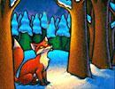 قصه ی کودکانه روباه مریض و گنجشک زرنگ