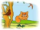 قصه کودکانه زیبای گربه ی تنها