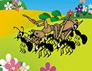 قصه ی کودکانه وزیبای ماشین مورچهها