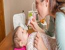 راه های درمان گرفتگی بینی در نوزادان