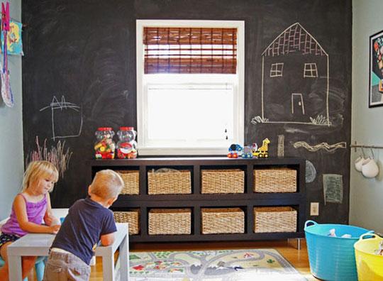 ایده برای نظم بخشیدن به دکوراسیون اتاق کودک