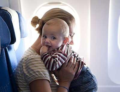مسافرت رفتن با نوزاد