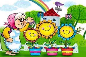 قصه کودکانه باغچه مادربزرگ
