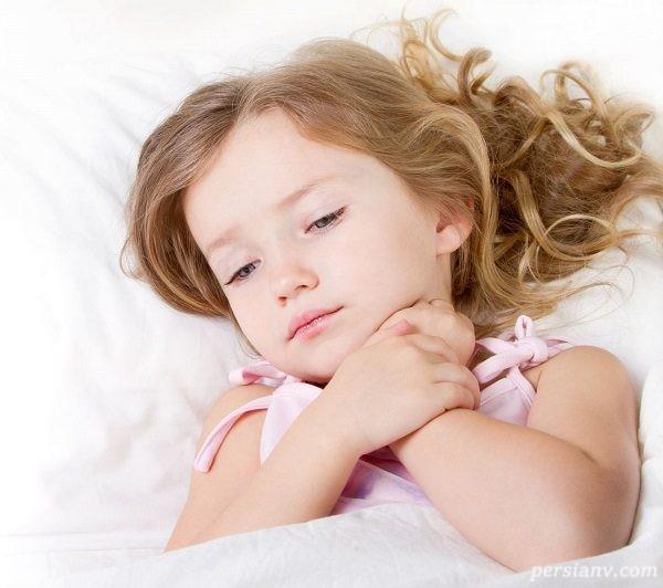 از کجا بفهمیم کودک تب دارد