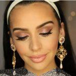 آموزش آرایش به رنگ رزگلد یا طلای سرخ + عکس