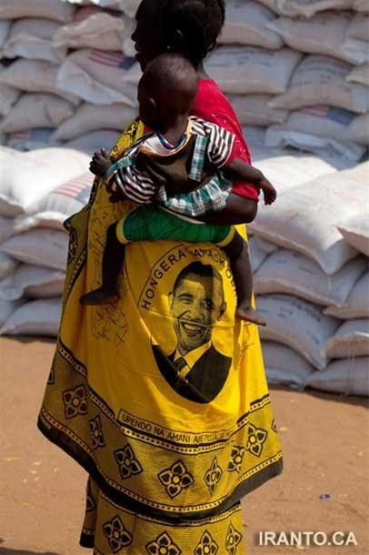 عکس: اوباما بر تن زنان فقیر آفریقایی!