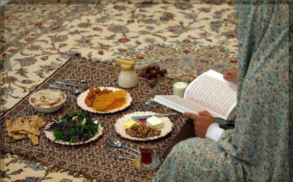 کاهش تشنگی در ماه رمضان
