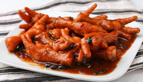 ارزش غذایی پای مرغ