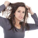 راه حلی برای موهای چرب