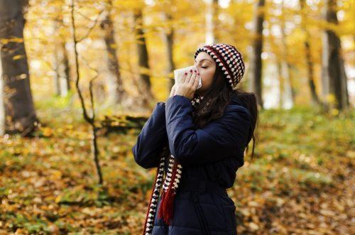کاهش آلرژی پاییزی
