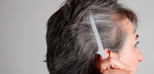 از بین بردن سفیدی مو