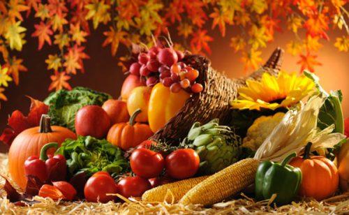 رژیم غذایی پاییزی