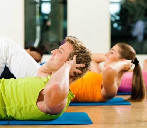 استفاده از گن های ورزشی ، در هنگام ورزش کردن