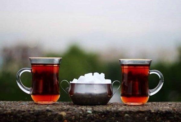 زمان نوشیدن چای