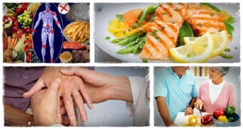رژیم غذایی برای درد آرتریت