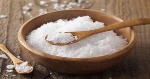 خواص نمک برای موها