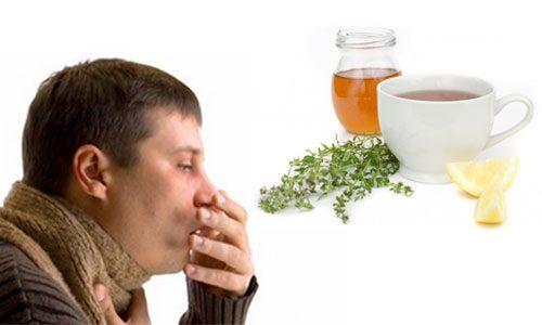 درمان سرفه و گلو درد با طب سنتی
