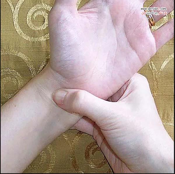 ماساژ کف دست