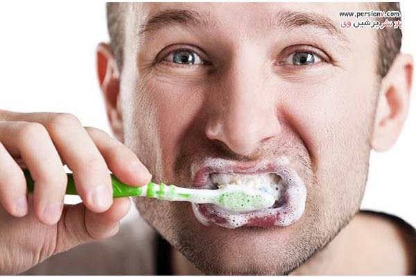 علامت پوسیدگی دندان