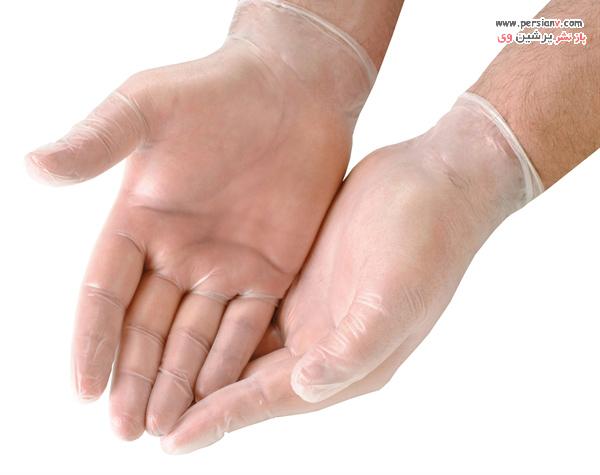دستکش های وینیل
