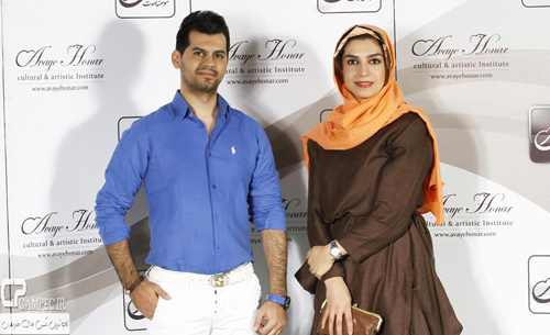 امین زندگانی و همسرش در کنسرت شهاب رمضان + تصاویر