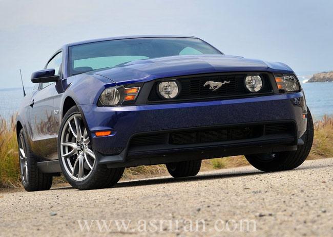 گزارش تصویری از خودروهای ۲۰۱۱ /فورد Mustang GT