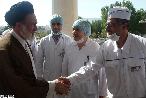 عکس : بازدید از آشپزخانه های مرکزی حجاج ایرانی