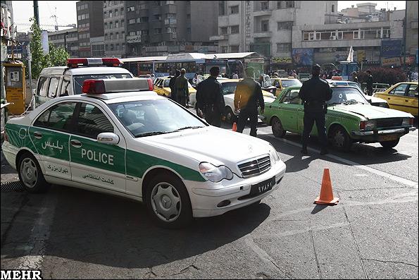 عکس : اجرای طرح مبارزه با اراذل و اوباش در تهران