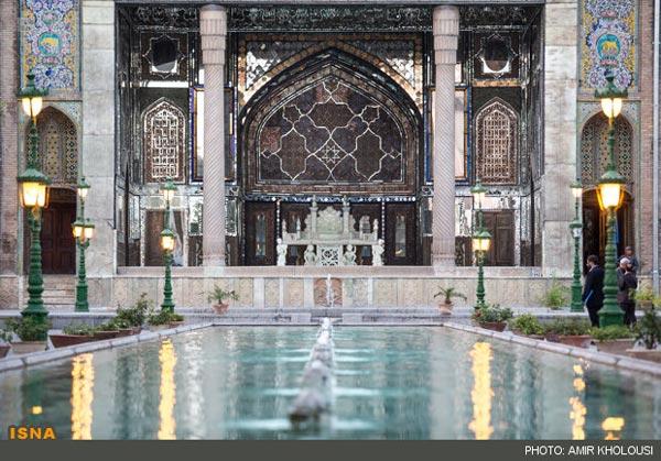 عکس: مراسم جشن ثبت جهانی کاخ گلستان
