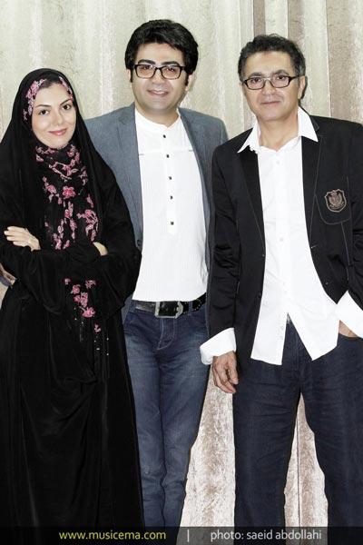 عکس: تصاویر کنسرت آسرایی با حضور زوج هنری معروف