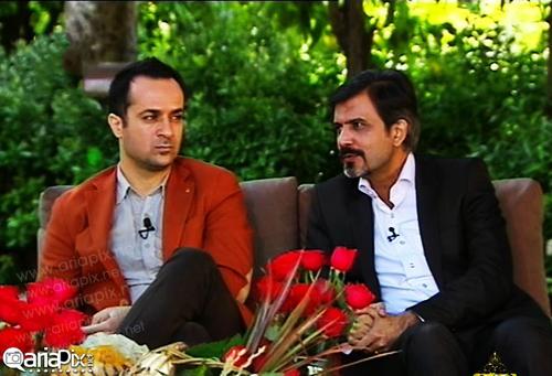 عکس های جدید احمد مهرانفر و منگ هان ژانگ در برنامه تلویزیونی