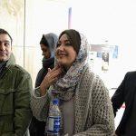 عکس های هانیه توسلی در حاشیه جشنواره ۳۳ فیلم فجر