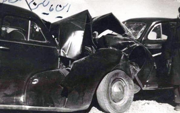 عکس تاریخی اولین تصادف رانندگی شدید در ایران +عکس