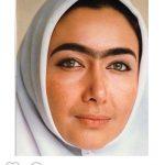 گریم تاریخی کتایون ریاحى به دست استاد عبدالله اسکندری + عکس