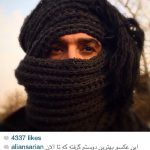 چهره متفاوت علی انصاریان در فیلم هدیه!