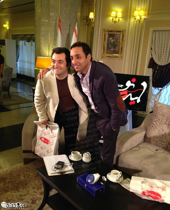 امیرحسین رستمی در برنامه صبح خلیج فارس + تصاویر