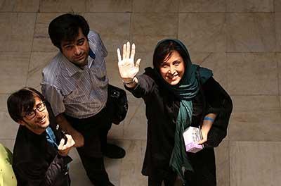 مهتابکرامتی در افتتاح سینمای رودبار +تصاویر